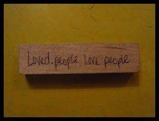 loved people love people